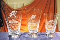 Trofeo Combe Florero Vaso Cristal