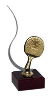 Trofeo Cuarzo Raqueta de Ping Pong
