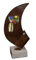 Trofeo Cubo, dado y tablero de  Parchis Oriana