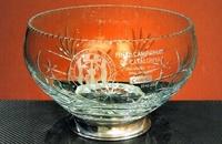 Trofeo Dam Ensaladera Cristal Plata