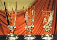 Trofeo Dassanetch Copa Florero Cristal