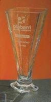 Trofeo Daza Florero Cuadrado Acrecentado