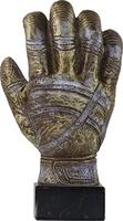 Trofeo Decorado guantes de futbol