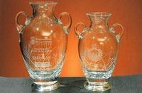 Trofeo Didinga Florero Pequeñas Asas