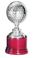 Trofeo Dionea Plateada Pelota Golf