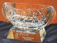 Trofeo Dogon Cristal Tallado Estrella