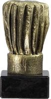 Trofeo Dorado gorro de cocina