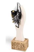 Trofeo Escultura tres tonos modelo Aporo