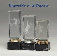 Trofeo Icono de Cristal 3D