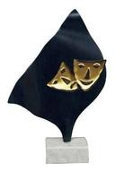 Trofeo Luna en  Latón para Teatro