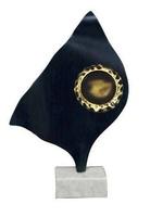 Trofeo Luna en Laton Portadiscos