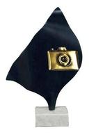 Trofeo Luna en Laton para Fotografia