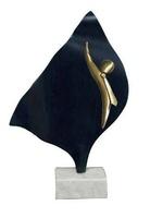 Trofeo Luna en  Laton para Negocios