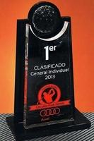 Trofeo Metacrilato Glavda Negro Transparente Golf