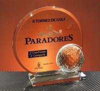 Trofeo Metacrilato Gnawa Pelota Golf Metacrilato