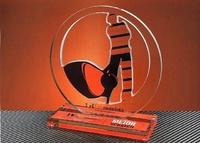 Trofeo Metacrilato Goemai Silueta Golf