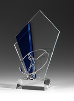 Trofeo Minatetlan cubo golf cristal