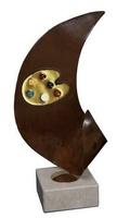 Trofeo Oriana Paleta de Pintura con esmalte