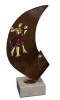 Trofeo Pareja de Baile en Latón Oriana