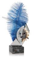 Trofeo Pluma azul de carnaval