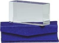 Trofeo Rectangular Fluviá de Cristal