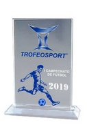 Trofeo Rectangular Vertical