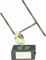 Trofeo Rugby pelota y portería