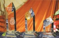 Trofeo Tutsi Cristal Rombo Acrecentado