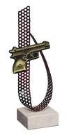 Trofeo Zafiro Pistola, arma corta