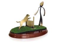 Trofeo adiestramiento canino