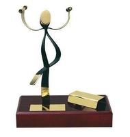 Trofeo aerobic latón