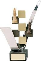 Trofeo ajedrez hecho a mano