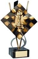 Trofeo ajedrez tablero