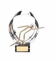 Trofeo atletismo dorado atletismo
