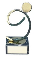 Trofeo atletismo latón