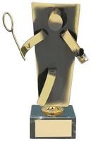 Trofeo bádminton latón