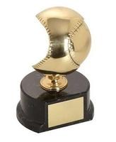 Trofeo béisbol pelota