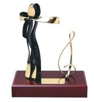 Trofeo baile peana madera