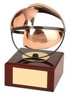 Trofeo baloncesto balón