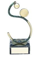 Trofeo balonmano artesanal