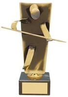Trofeo billar latón