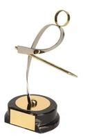 Trofeo billar plateado y dorado