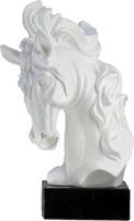 Trofeo blanco de caballo