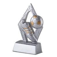 Trofeo bota de futbol oro