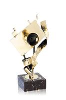 Trofeo cámara y carrete