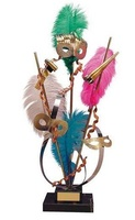 Trofeo carnaval plumas