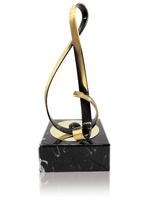 Trofeo clave de sol latón