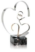 Trofeo corazon 25 aniversario