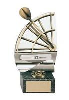 Trofeo dardos dardo y diana latón