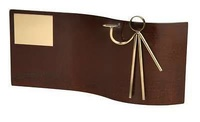 Trofeo dardos rectangular ondulado